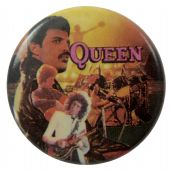 Queen - 'Stage Collage' Button Badge